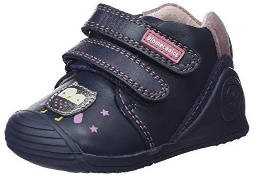 Biomecanics 181141, Zapatillas de Estar por casa para Bebés 181141/A/Amz Azul Marino (Sauvage), 22 EU