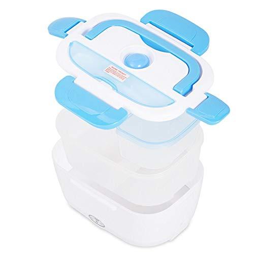 Boîte Chauffante Lunch Box Chauffante Électrique Boîte Alimentaires Boîte Repas Plastique à Pique-Nique