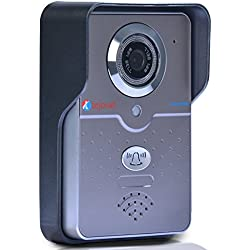 Smart Wi-Fi HD 720P Video Doorbell with 128 GB TF Card Support, Motion Detection, Night Vision,Two Way Calling Features