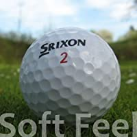 Srixon 50 SOFT FEEL LAKE GOLF BALLS - AAA/AA QUALITY (A/B GRADE) - IN MESH BAG