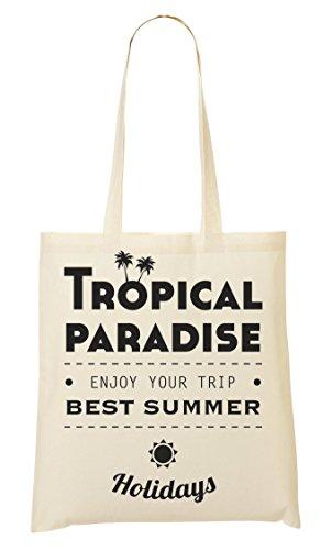 st Summer Holidays Tragetasche Einkaufstasche ()