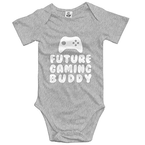 Daddy Future Gaming Buddy Summer Baby Sleeveless Romper One-Piece Bodysuit Jumpsuit Outfits One Piece Romper Outfit