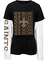 New Orleans Saints - Team And Logo Youth 2Fer