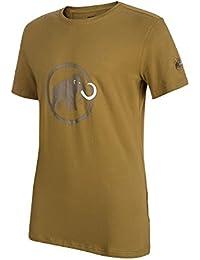 Mammut – Camiseta de Manga Corta Camisetas, Primavera Verano, Hombre, Color  Sand 3aa1798b22