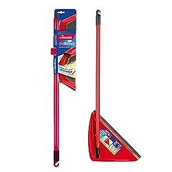 Vileda DuActiva Anti Dust Broom + Long Handle Dustpan