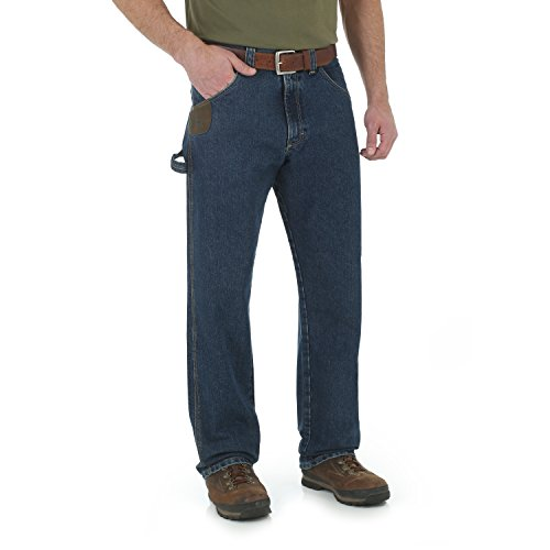 Wrangler Herren Riggs Workwear Big & Tall Cool Vantage Carpenter Jeans, Dark Stone, 52W / 32L -