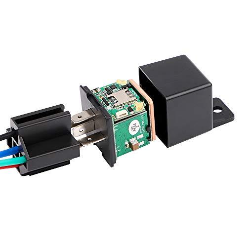 Relé GPS rastreador de Choque de Coche GPS gsm localizador Dispositivo de...