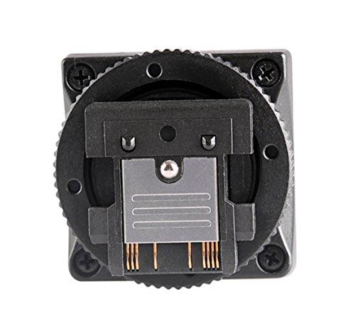 Meike SH21Blitzschuh Adapter konvertiert Mi Port zum Verbinden mit traditionellem Flash erkennen, TTL Funktion, Verwendung für RX100M2/RX1/RX1R/ILCE-6000DSC-/A6000/A7/NEX-6/A99/A58/HX400HX60HX50etc. Kameras
