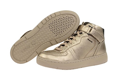 Geox D Nimat A, Sneakers Hautes femme Gold (Champagne/TAUPECB5Q6)