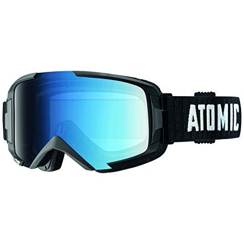 Atomic Damen/Herren Skibrille für Brillenträger, All-Wetter, Passform M, Live-Fit Rahmen, Oversized Look, Savor Photochromic, Blau/ Schwarz, AN5105286