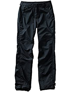 Northland Professional Falcon - Pantalón técnico de montaña para mujer, color negro, talla 38