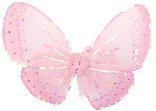 Schmetterlingsflügel Elfen Flügel für Kinder - Rosa - Feen ()