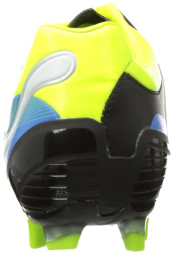 Puma PowerCat 2 FG 102783 Herren Fußballschuhe Schwarz (black-fluo yellow-white-brilliant blue 04)