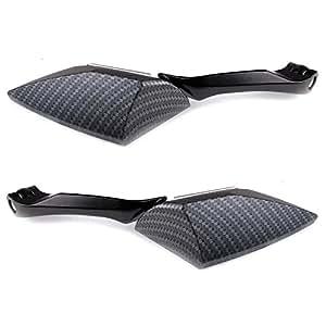 2x motorrad spiegel rueckspiegel roller atv quad 8mm 10mm. Black Bedroom Furniture Sets. Home Design Ideas