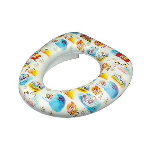 Kinder Toilettensitz Aufsatz Soft Baby WC-Sitz Toilettenauflage Kids WC Brille Design 05 05 Brille