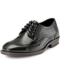 Teakwood Men's Real Genuine Leather Formal Derby Dress Shoes