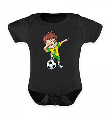 Hochwertiges Baby Body - Dabbing Fussball Spieler Jungs Dab Motiv Kinder T-Shirt Fussballer Fan Soccer Geschenk - Fußball Body