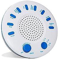 Polkeiser Instrumento De Suspensión De Música Temporizada, Máquina De Ruido Blanco para Dormir, Durmiente De Música con Opción De Temporizador, USB O Alimentado por Batería