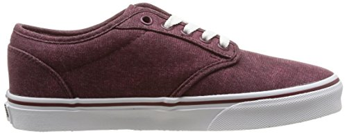 Vans - W Atwood, Sneakers da donna Rosso (Red (washed Canvas/windsor Wine))