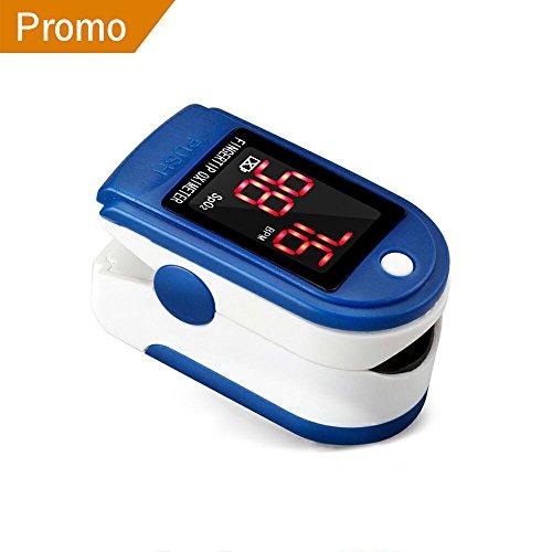 MKROYO Saturimetro Pulsossimetro Professionale Pulsossimetro Avanzato (SpO2) e Frequenza del Polso (PR) Misurazioni Monitor
