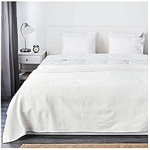 IKEA ASIA Colcha Indira, Color Blanco