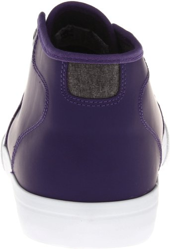 Dc Shoesstudio Mid Le - Stringata Classica Unisexe - Adult Velours Violet