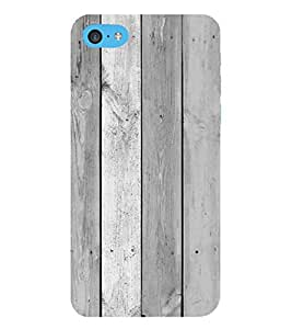 PrintVisa Cool Ice Wood Pattern 3D Hard Polycarbonate Designer Back Case Cover for Apple iPod Touch 6