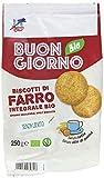 La Finestra Sul Cielo Buongiornobio Biscotti di Farro Integrale senza Lievito Bio - 6 Confezioni da 250 g