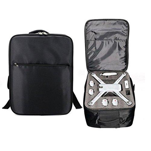 xiaomi mi drone 4k accesorios, Sannysis xiaomi mi drone mochilas para xiaomi mi drone 4k wifi fpv rc quadcopter drone camara wifi bolsa baratos xiaomi mi drone 1080p backpack (Negro)
