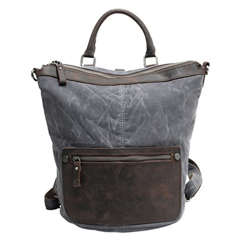 FAIRY COUPLE Zaino Casual, Dark Grey (grigio scuro) - C3003 bag 004 Dark Grey