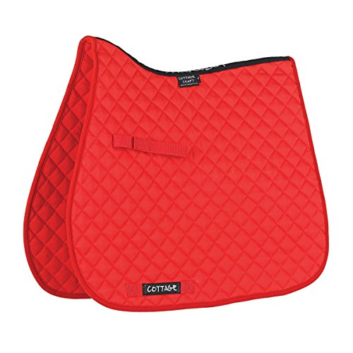 Cottage Craft Klassik hoher Widerrist GP Schabracke (Standard) (Rot)