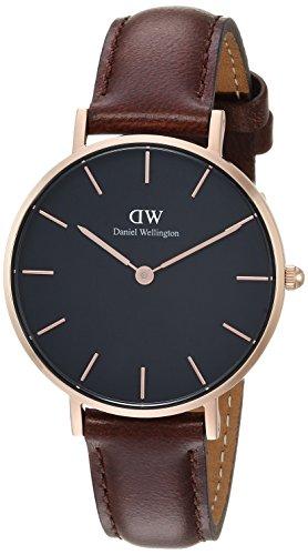 Daniel Wellington Women's Analogue Quartz Watch with Leather Strap DW00100165