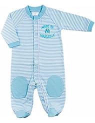 Grenouillère OM - Collection officielle Olympique de Marseille - Taille bébé garçon