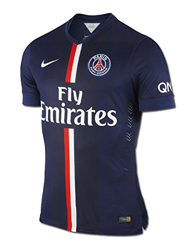Nike - Maillot Foot - maillot psg match 2014/15 - Taille L