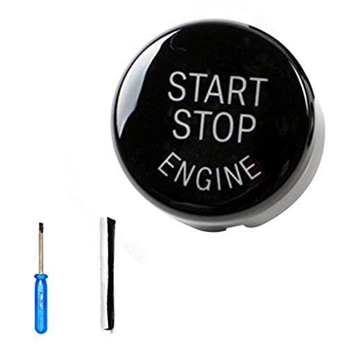 Morza Qualität ABS Auto-Motor-Start-Stop-Schalter Taste ersetzen Abdeckung für BMW E60 E70 E71 E90 E92 -