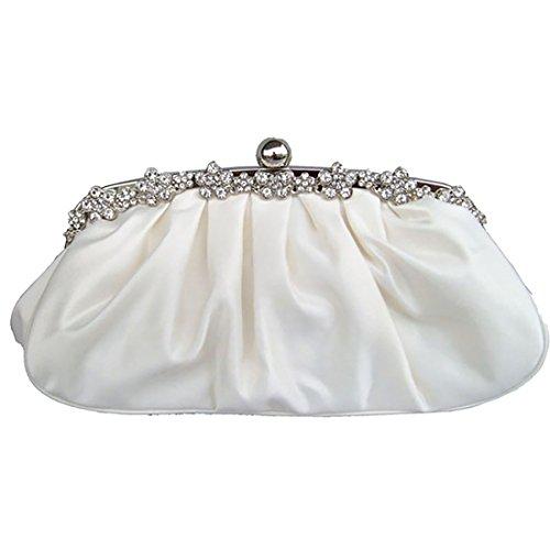 YYW Evening Bag, Poschette giorno donna Beige