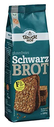 Bauckhof Bio Bauck Bio Schwarzbrot, glutenfrei (6 x 500 gr)