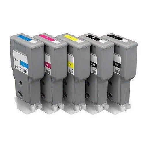 Preisvergleich Produktbild Kompatible Tintenpatrone PFI-207 für Canon IPF 680 685 780 785,  Matt Black