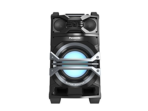 Panasonic Best in Class Portable 3-Way Giant Sound System SC-CMAX5 (Black) 1000W, USB/Bluetooth Music Play, Handle and Wheels for Mobility