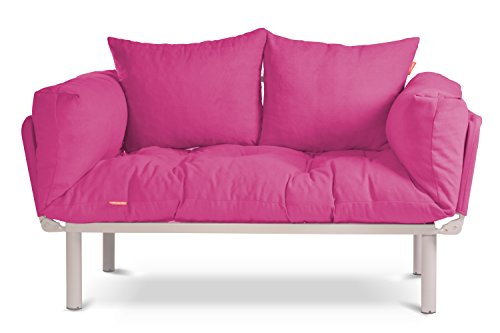 EasySitz Schlafsofa Sofa 2 Sitzer Kleines Couch 2-Sitzer Schlafsessel für Zweisitzer Personen Mein...
