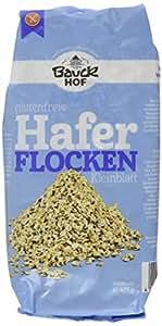 Bauckhof Haferflocken Kleinblatt glutenfrei, 4er Pack (4 x 475 g) - Bio