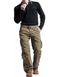 fa04c81c9df5a Newfacelook Pantalon Cargo Combat Trousers Jeans Militaires Work Wear Pants