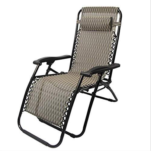 Patio Kissen (ZMXZMQ Zero Gravity Lounge Chair, Mit Kissen Und Getränkehalter, Patio Faltbar, Verstellbar, Verstellbar Für Outdoor Yard Porch,Gray)