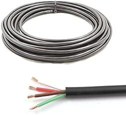 4Core Kabel 12V 24V Dünn Wand Draht * 14Amp spezifische * Trailer LED Lampen (10Mio.)