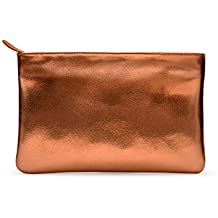 DailyObjects Tan Leather Pouch