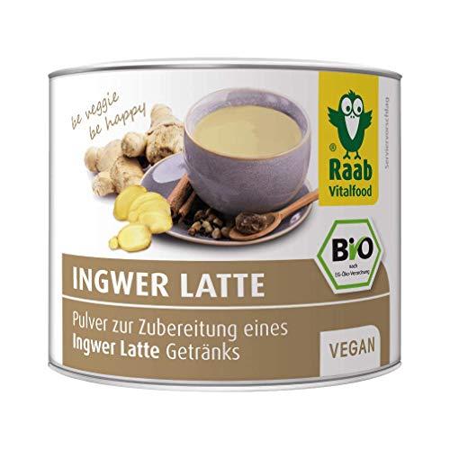Raab Vitalfood Bio Ingwer Latte Pulver, 70g