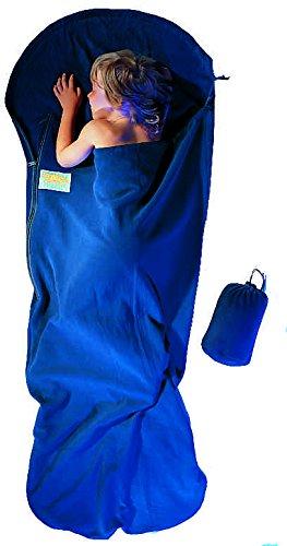 Cocoon Sac de couchage Enfant Kidbag PFK33 polaire Coloris bleu