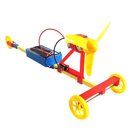 Elektrische Luft-Rennwagens DIY Montage Spielzeug-Set Modellbausatz
