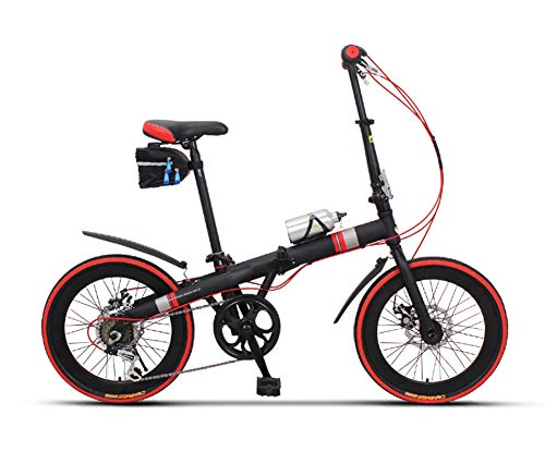 ABYYLH Fahrrad 20 Zoll Herren/Damen, Jugendrad Citybike Klappbar Adult Bike