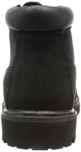 Timberland Mens Anti Fatigue Chukka Nubuck Boots Noir